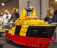 LEGO boat Royalty Free Stock Photography
