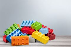 Lego. Brick isolated rectangle fun green white stock photo