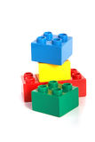 Lego Building Stock Photography