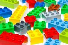 Lego building blocks Royalty Free Stock Photo