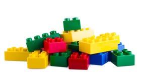 Lego byggande kvarter Arkivbilder