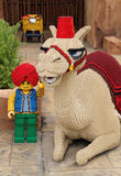 Lego Camel at Legoland Royalty Free Stock Images