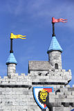 Lego Castle Royaltyfri Fotografi