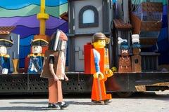 Lego characters Stock Photography