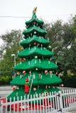 Lego Christmas tree. A lego christmas tree, taken in winter haven, Florida, USA Royalty Free Stock Photos