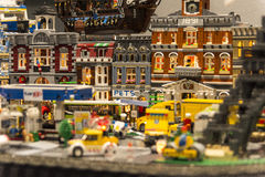 LEGO city detail Royalty Free Stock Photo