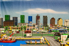 LEGO city Royalty Free Stock Photos