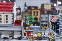 LEGO city Royalty Free Stock Photography