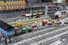 LEGO city Stock Photography