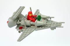 Lego Classic Space stellte kein ein 6861, Handwerk der Patrouillen-X1 stockfotografie