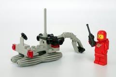 Lego Classic Space stellte kein ein 6822, Raum-Gräber stockfoto