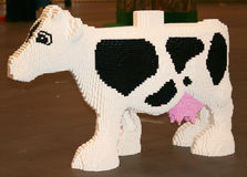 LEGO Cow Stock Photos