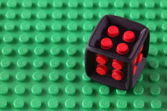 Lego Cube Lizenzfreie Stockfotos