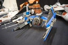 Lego de las Guerras de las Galaxias Imagen de archivo libre de regalías