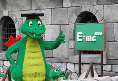 Lego Dragon at Legoland Stock Image
