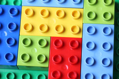 Lego Duplo Blocks stockfotos