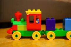 Lego Duplo train Royalty Free Stock Photo
