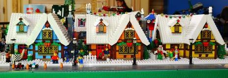 Lego ekspozycja zdjęcia royalty free