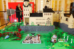 Lego Exposition France Royalty Free Stock Photos