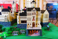 Lego Exposition France. Lego exposition in a City Hall in France Royalty Free Stock Images