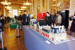 Lego Exposition France Royalty Free Stock Image