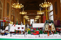 Lego Exposition France. Lego exposition in a City Hall in France Stock Image