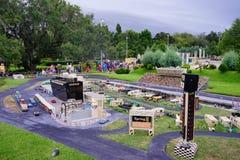 Lego F1. Legoland Florida - F1 car race stock photos