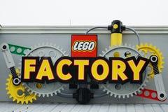Lego-Fabrik in Legoland Florida Lizenzfreies Stockfoto