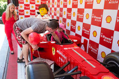 Lego Ferrari - αυτοκίνητο αντιγράφου. Στοκ Εικόνες