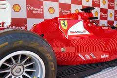 Lego Ferrari - αυτοκίνητο αντιγράφου. Στοκ εικόνα με δικαίωμα ελεύθερης χρήσης