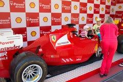 Lego Ferrari - αυτοκίνητο αντιγράφου. Στοκ Φωτογραφία