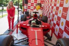 Lego Ferrari - automobile della replica. Immagine Stock