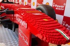 Lego Ferrari - Replica car. Stock Photo
