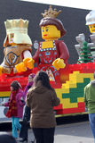 Lego Float - Santa Claus Parade Toronto 2010 Royalty Free Stock Images