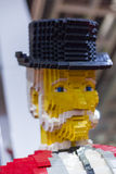 LEGO gentleman Royalty Free Stock Images