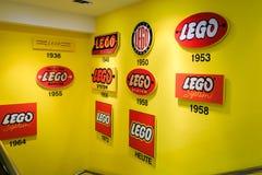 Lego-Geschichte Lizenzfreies Stockfoto