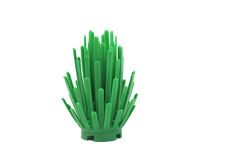 Lego green bush toy Royalty Free Stock Image