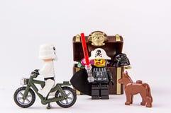 Lego gwiezdne wojny i pirata skarb Zdjęcie Royalty Free
