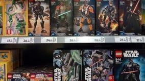 Lego gwiezdnych wojn zabawki Fotografia Stock