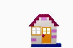Lego Haus Lizenzfreies Stockfoto