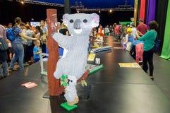Lego Koala Stock Images