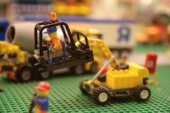 Lego Kran Lizenzfreie Stockbilder