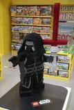 Lego Kylo Ren w zabawkarskim sklepie fotografia royalty free