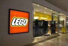 Lego lager Arkivbilder