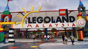 Lego Legoland Malaysia Entrance Stock Photography