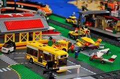 Lego leksaker royaltyfri foto
