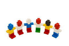 Lego little people Royalty Free Stock Photos