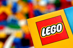Lego logo Royalty Free Stock Photos