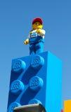 Lego män Arkivbild