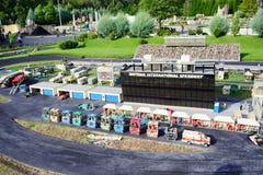 Lego mini race car Stock Photos